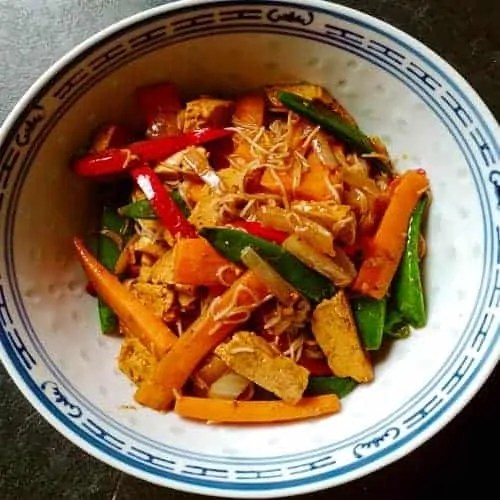 Tofu Stir Fry Recipe ( Five Spice)