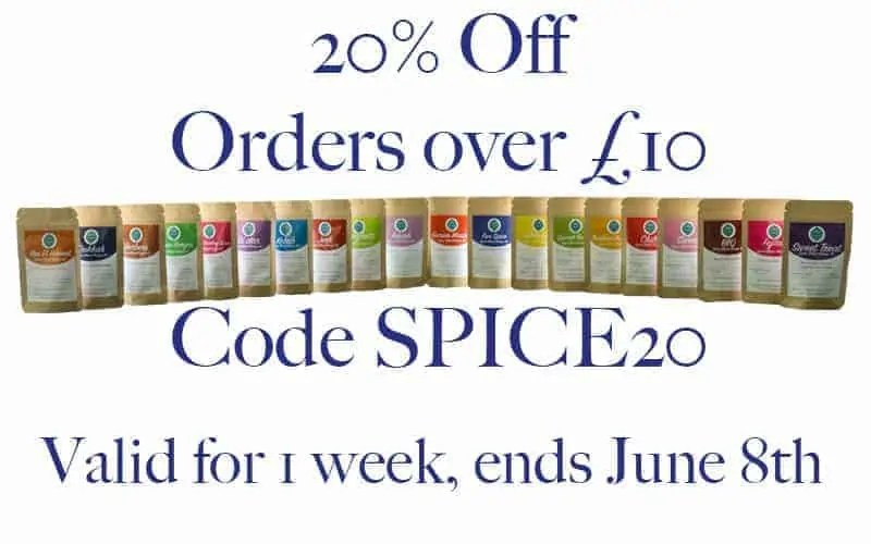 20% Off all orders over £10! Valid for 1 week!