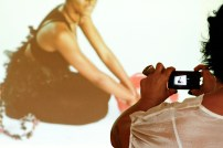 Bel Gurgel photographing Shanika Grimes' presentation