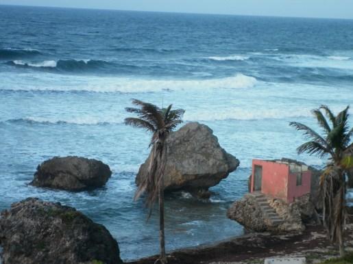 Atlantic Ocean at Bathsheba