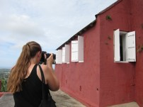 Maj Photographing Gun Hill