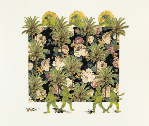 Anisah Wood, Divine Guardians, 2015.