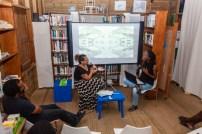 Torika Bolatagici and Anisah Wood presenting at FRESH MILK XIX