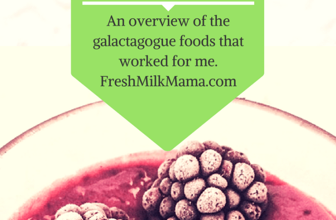galactagogue foods to boost breast milk supply