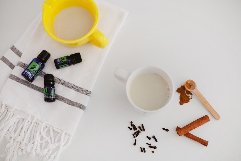 Wholesome Chai Tea Recipe made with Essential Oils