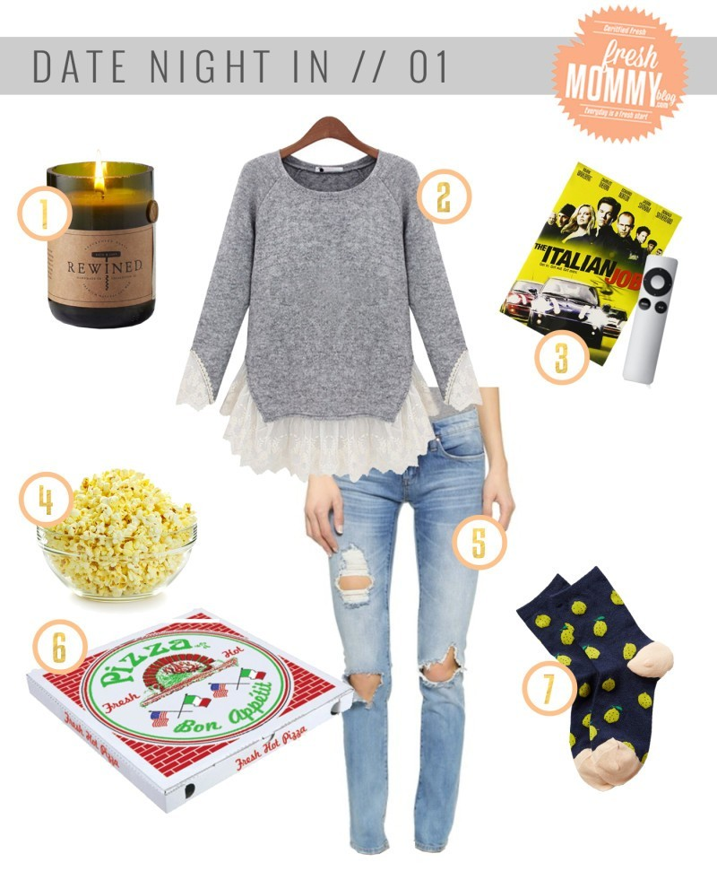 what to wear at home date