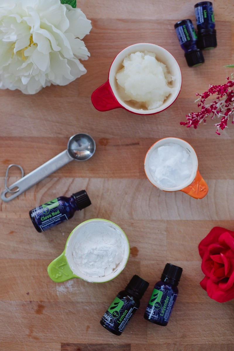 Essential Oil Deodorant recipe