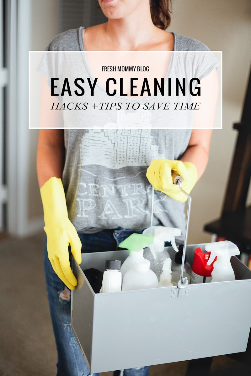 Easy Cleaning Tips and Hacks