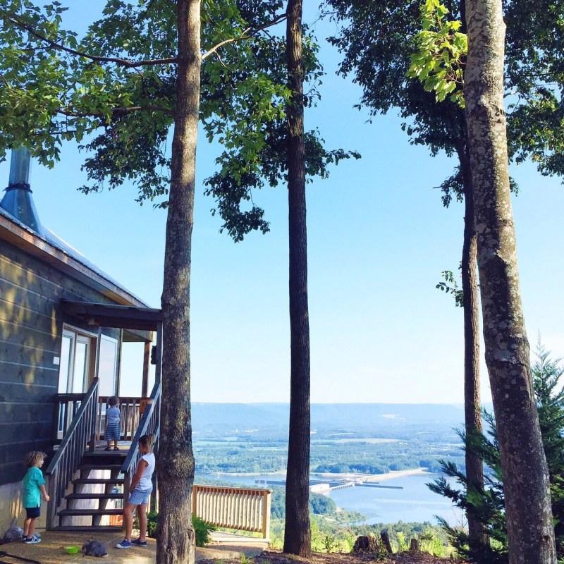 The best of Chattanooga #bluesummertour. A cabin adventure!