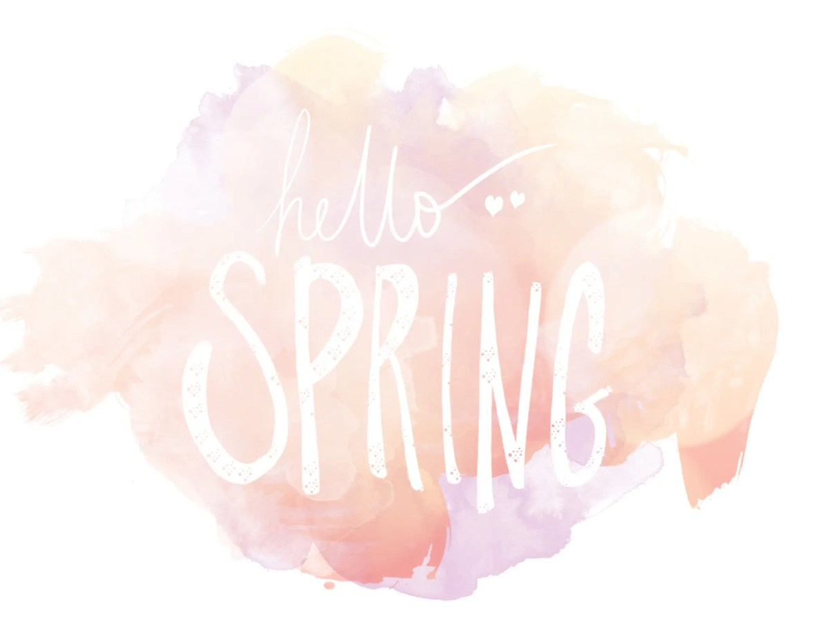 Hello Spring: New Life and Saying Goodbye