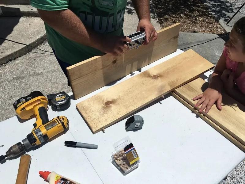 DIY Custom Coffee Bar Cart tutorial and instructions