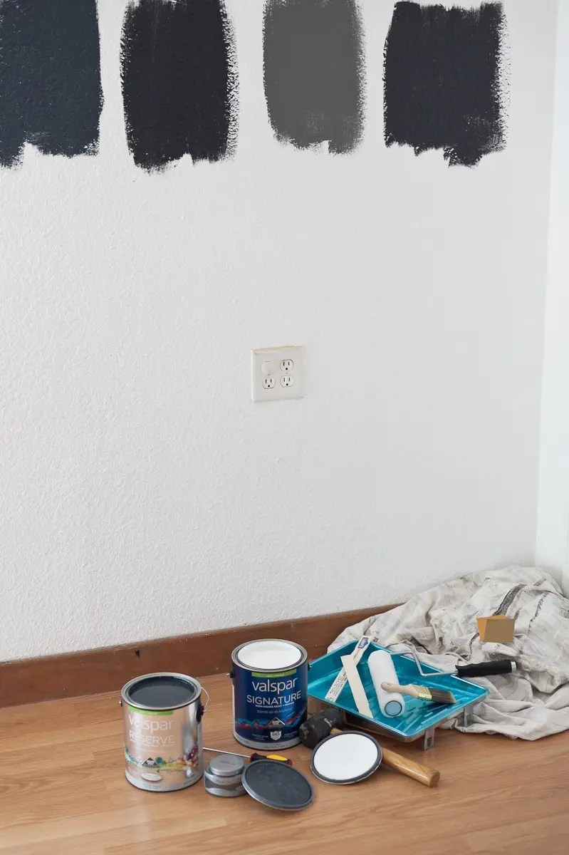 Room Design Inspiration with Valspar Paint | Master Bedroom and Nursery Nook