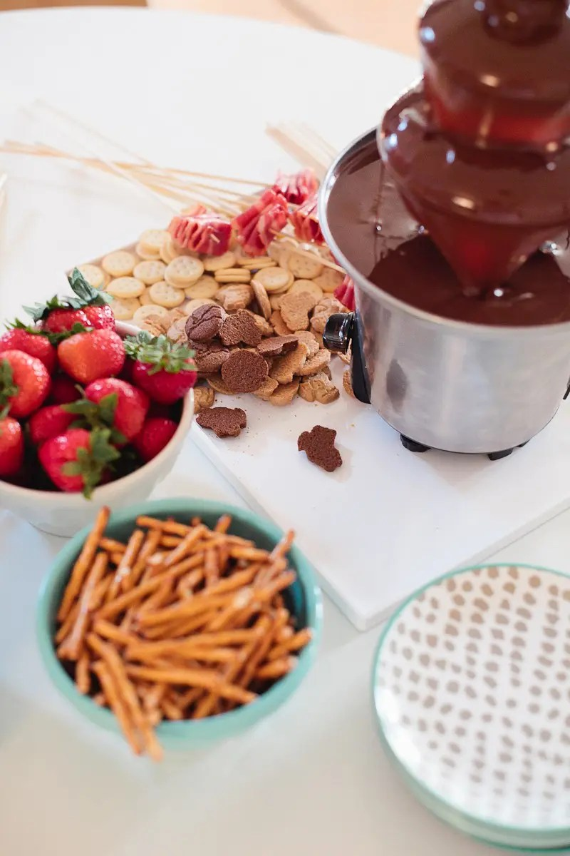 A Simple Kid Friendly Chocolate Fondue Party - Fresh Mommy Blog ...