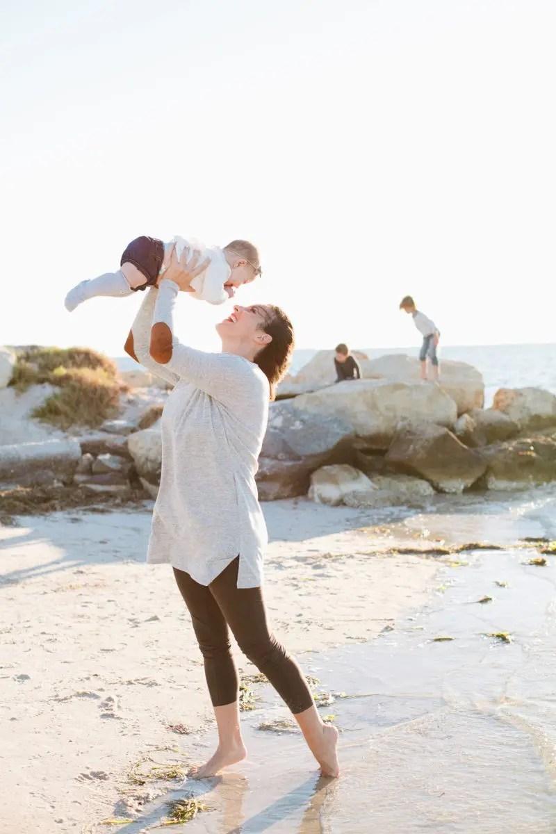 A family romp at the beach!