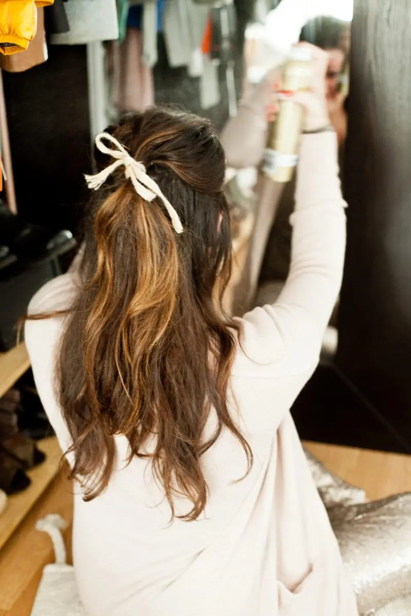 Winter Hair Care Routine for maintaining stronger, silkier, healthier looking hair with very little time!