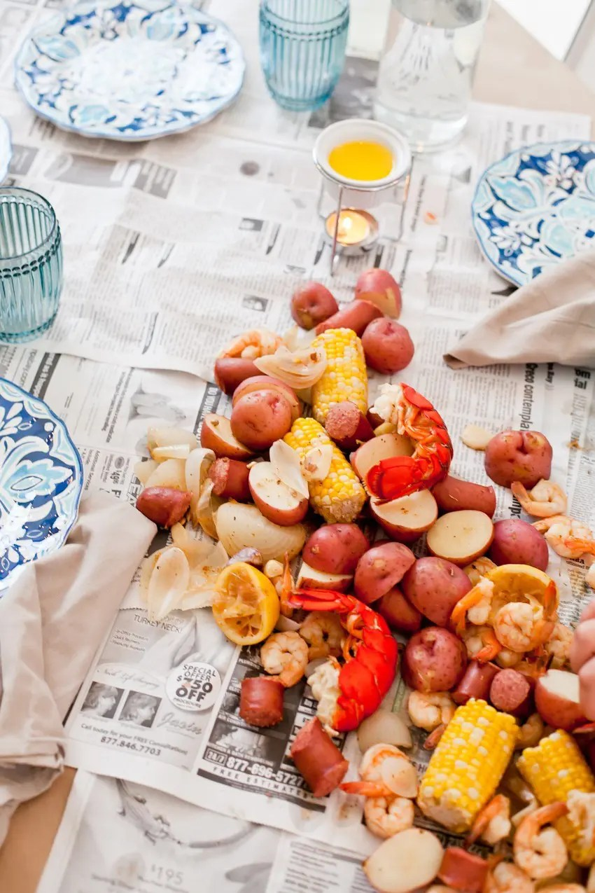How to host your own seafood boil!