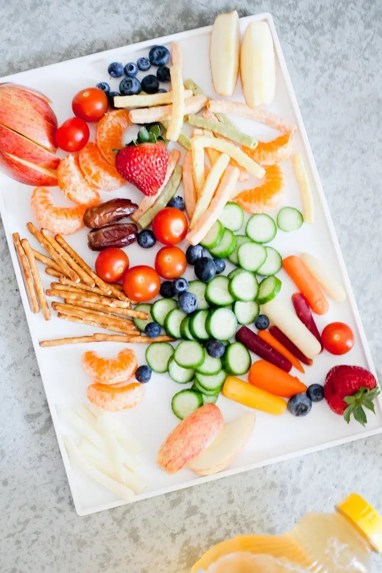 The ultimate snack tray that every kid will