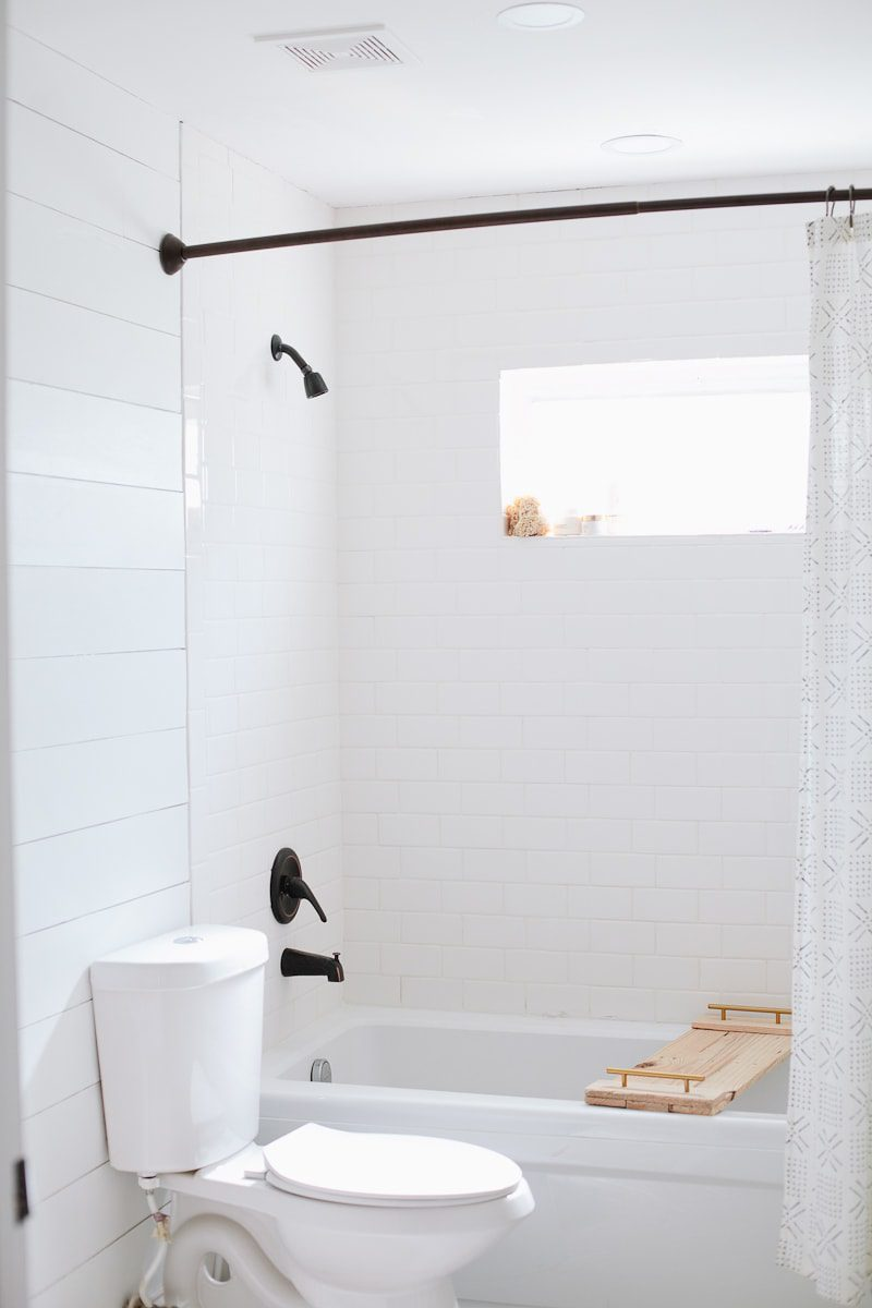Bathroom Remodel Update Diy Faux Shiplap Walls Fresh Mommy Blog