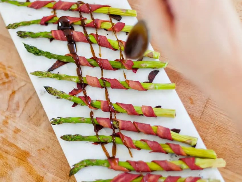 Our Favorite Easy Asparagus Recipe... with Bacon!