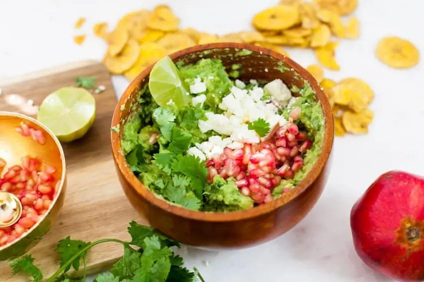 Pomegranate Guacamole recipe
