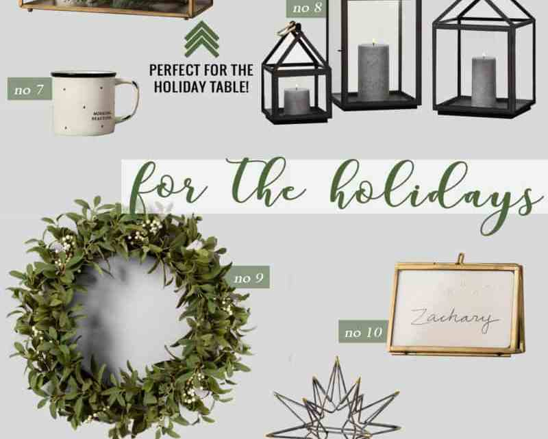 Our Favorites from HEARTH AND HAND WITH MAGNOLIA: A Chip & Joanna Gaines Collaboration with Target