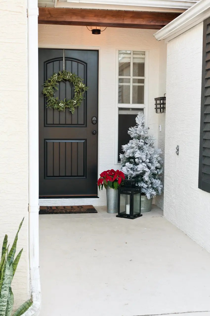 Front Door Makeover | Phase 2 Reveal | Fresh Mommy Blog