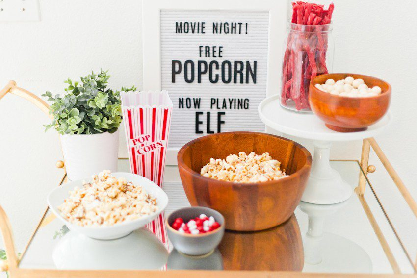 Our Inaugural Indoor Movie Night + Top 10 Family Christmas Movies