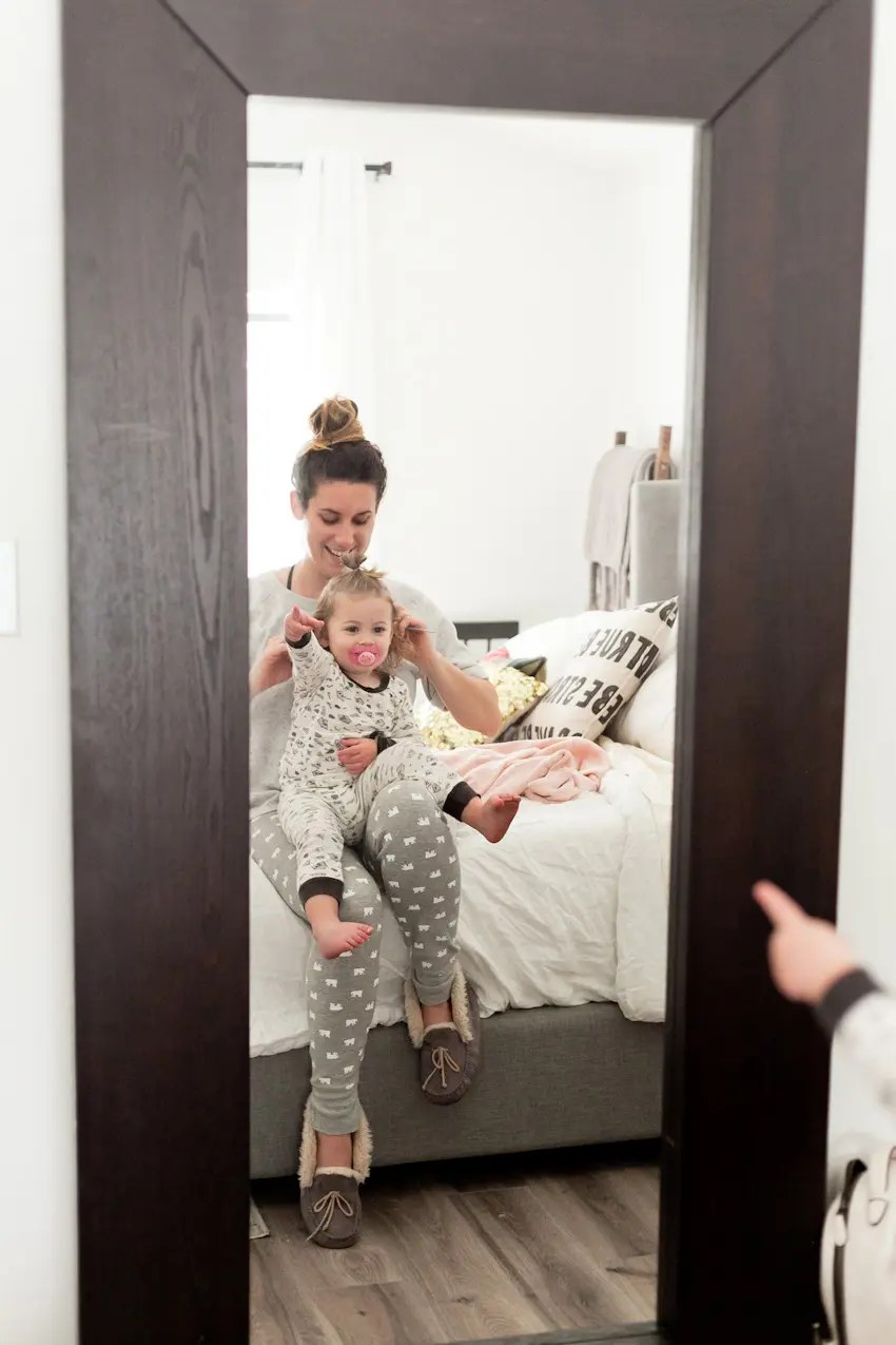 Our Family Morning Routine: A Behind the Scenes look at a what a REAL morning looks like for a busy family. Best daily morning routine ideas for kids and before school by popular Florida lifestyle blogger Fresh Mommy Blog