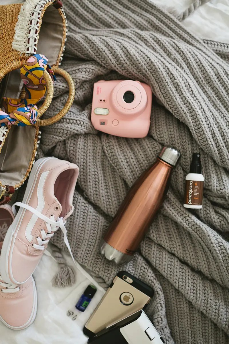 Road Trip Essentials and The Ultimate Road Trip Playlist with music for a happy, adventurous trip.