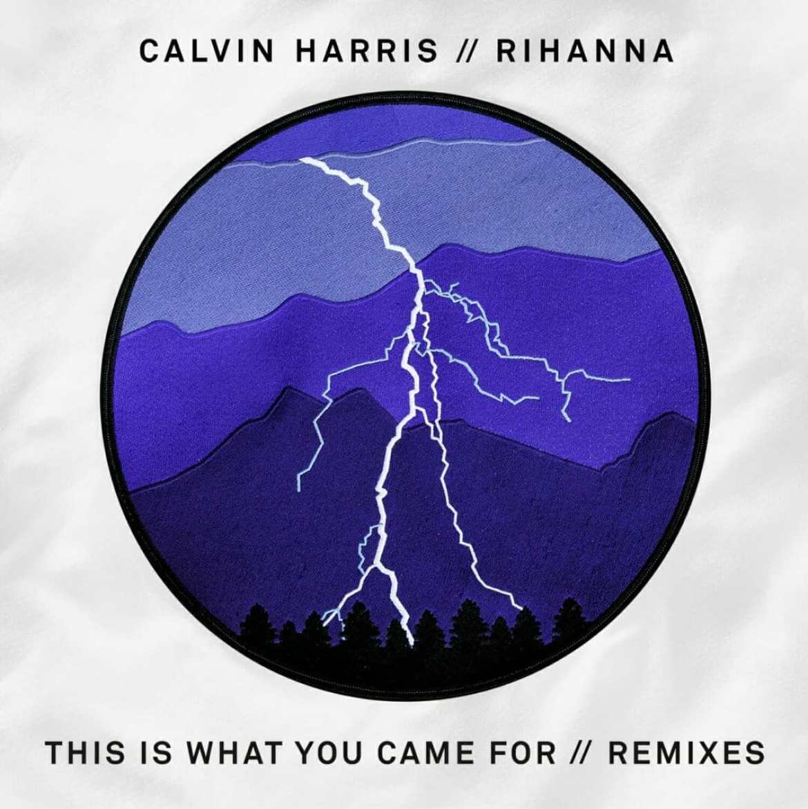 "remix of Calvin Harris and Rihanna ""This is What You Came For"","