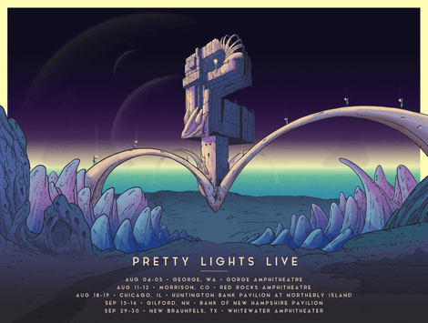 Image of Pretty Lights Tour dates