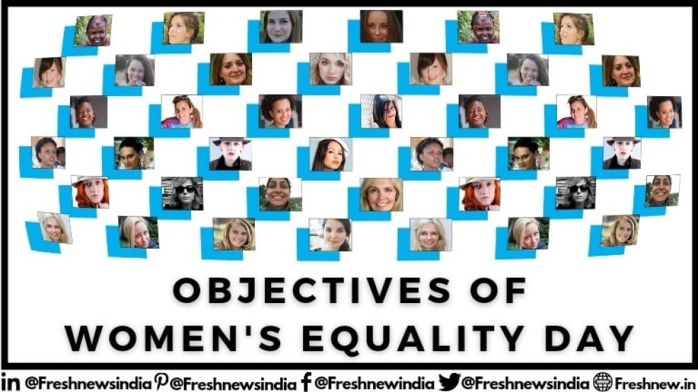 Objective of Women's Equality Day