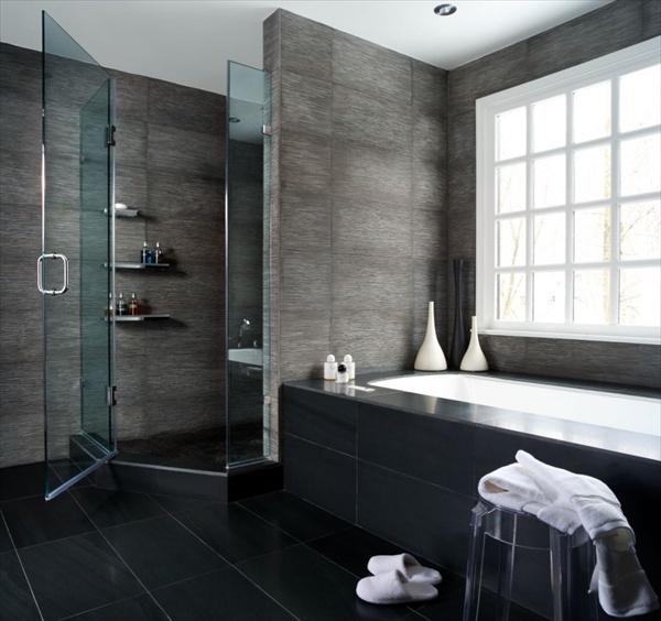 silver grey bathroom ideas
