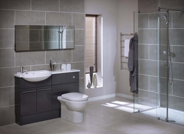 modern grey bathroom tile ideas