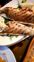 Keep it simple and have grilled fish