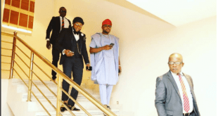 E-Money attends wedding in Anambra with his wife and brother