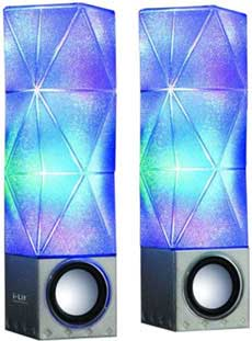 sound sistem I Lit Sound Illuminating Speakers