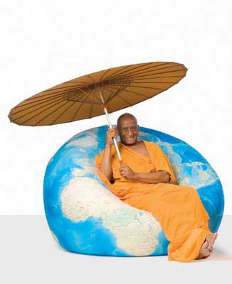 OoLaaLaa Globe Shaped Chair