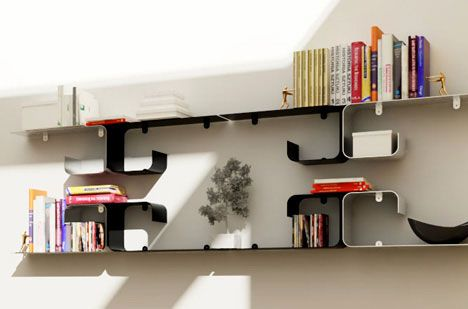 D-mension Shelf Modern Shelfing System