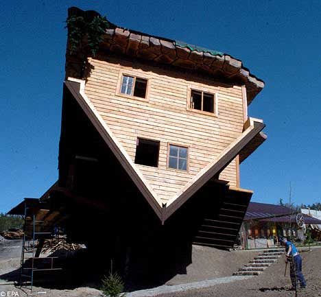 Amazing Upside Down House