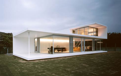 white house House with Great Views in Minami Boso