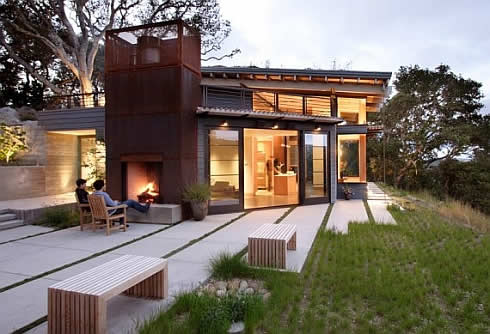 house ocho california 2 Wooden Inspiration : Ocho House