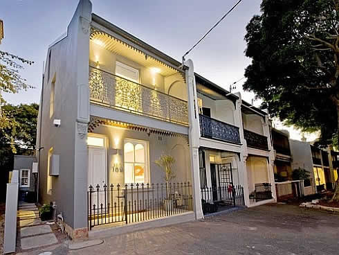 terrace house in sydney 1 Mind Blowing 19th Century Terrace House in Sydney