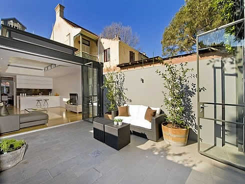 terrace house in sydney 6 Mind Blowing 19th Century Terrace House in Sydney