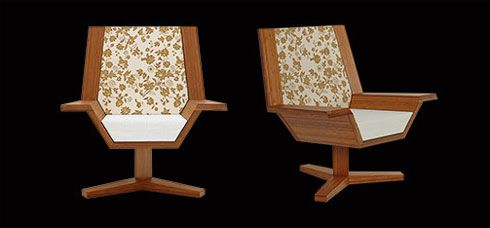 japanese chair Ecodecor's Tatami Flight Chair by Chris Gurney