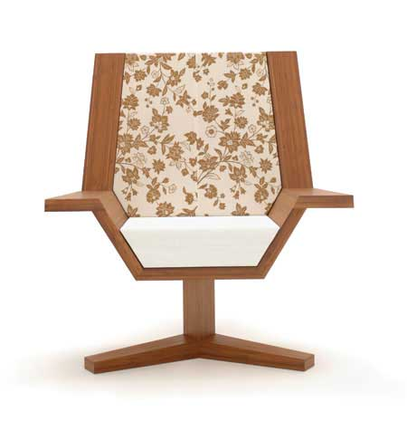 japanese chair2 Ecodecor's Tatami Flight Chair by Chris Gurney