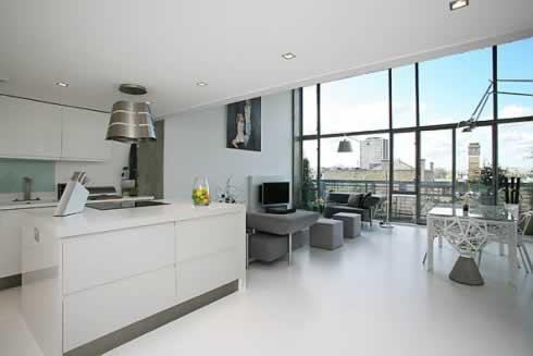 loft apartment in london by urban spaces 2 Loft Apartment in London by Urban Spaces