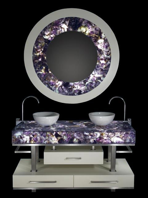zodiac-amethyst Luxury Gemstones in Home Interiors