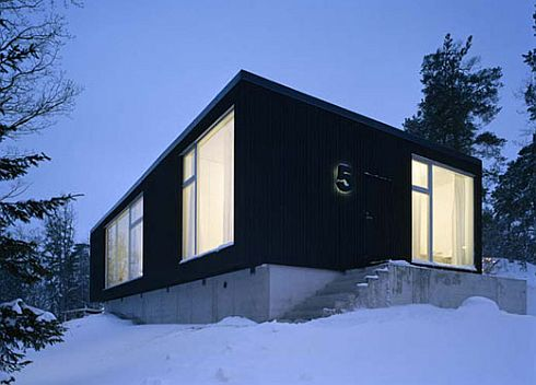 no5 house sweden 1 No.5 House: Stylish minimalist home in the heart of Sweden