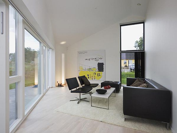 sinus house in denmark by cebra architects 5 Sinus House in Denmark by Cebra Architects